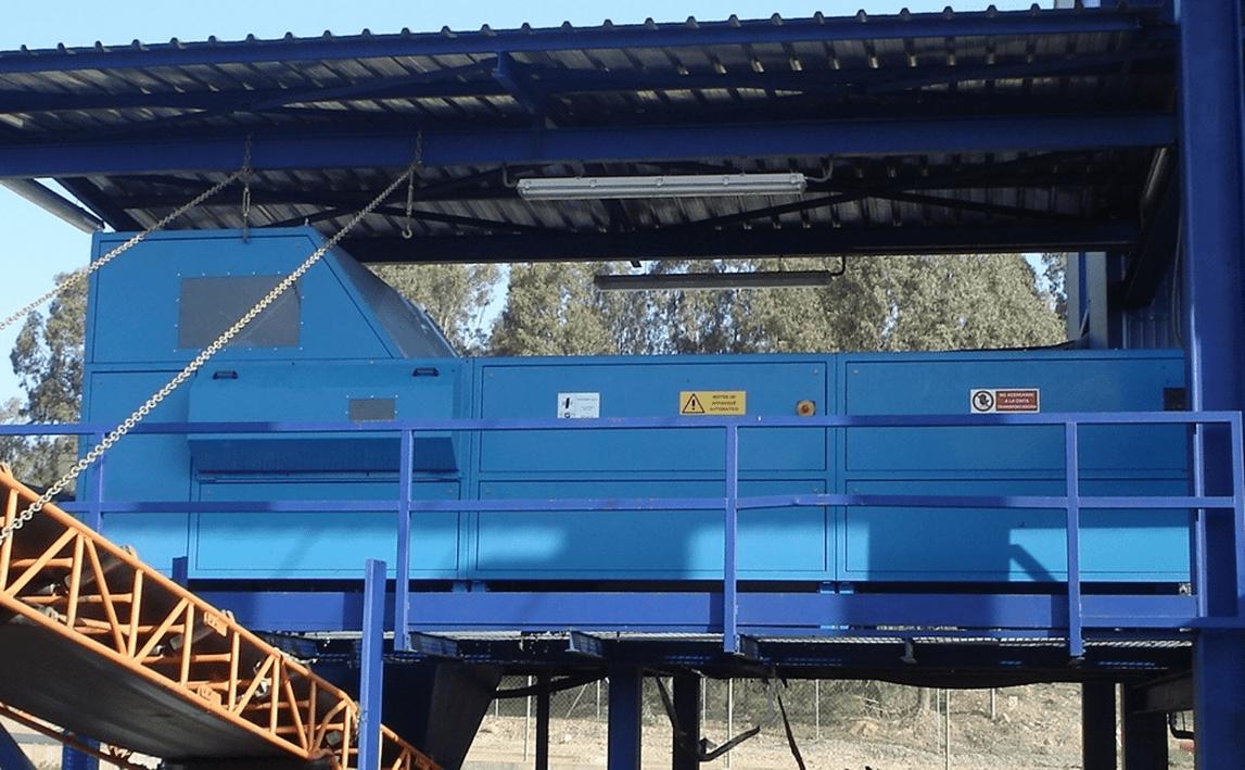 Separatory z dyszami powietrznymi